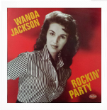 "LP  ✦✦ WANDA JACKSON ✦✦ ""Rockin' Party"""